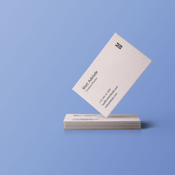 Business card printing from £30