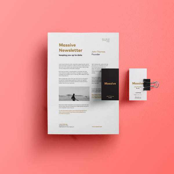 Professional corporate stationery printed by We Know Print