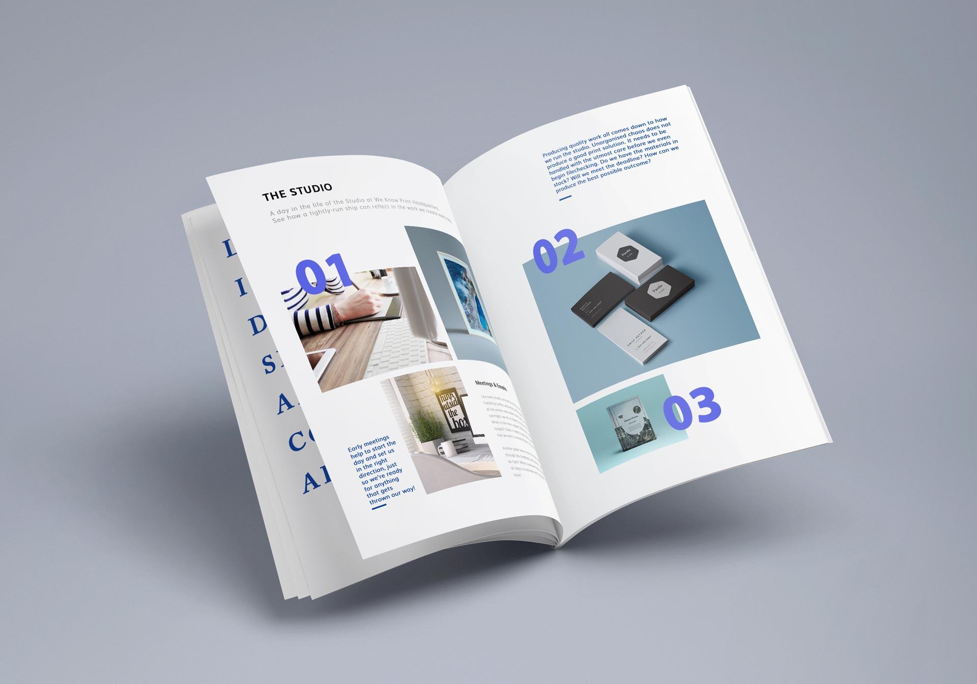 Booklet printing by WeKnowPrint